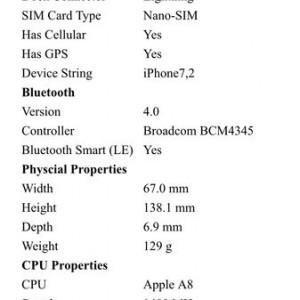 c AIDA64 iOS Report