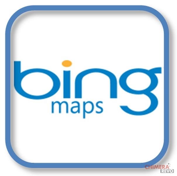 c Bing Maps blue logo