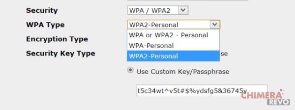 sicurezza del wifi