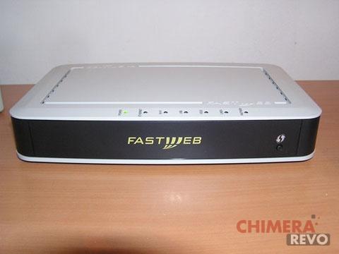 nuovo router WiFi su Fastweb