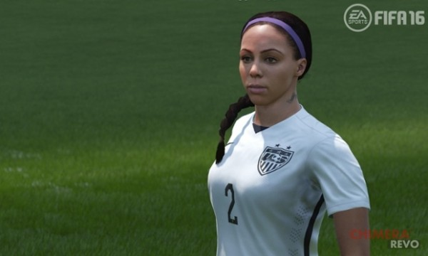Sydney Leroux - Rendering in FIFA 16