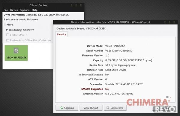 Controllare la salute dell'hard disk - GSmartControl