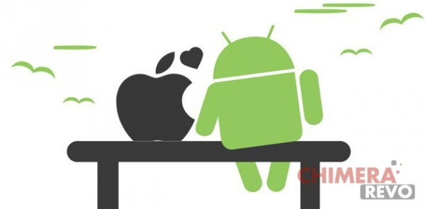 iOS vs Android - love