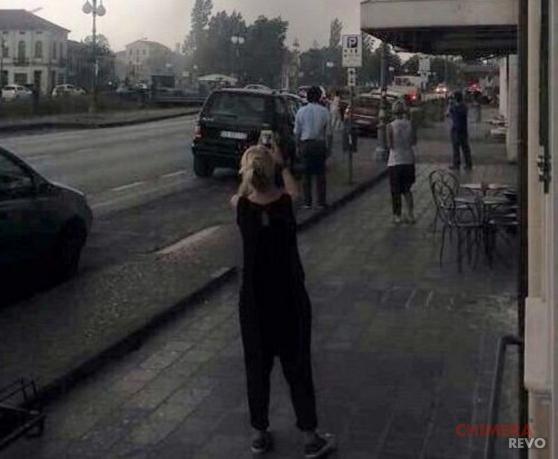 Selfie tragedie Venezia