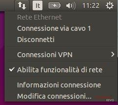 ubuntu appindicator rete