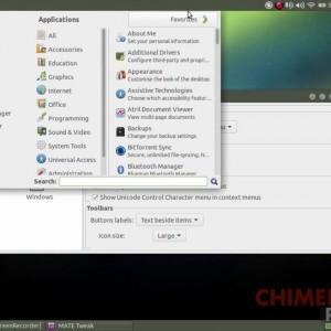 ubuntu mate menu