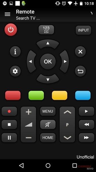 Telecomando per TV Panasonic