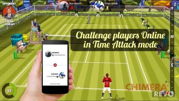 Chromecast gioco tennis